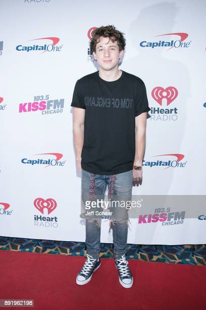 Charlie Puth attends 1035 KISS FM's iHeartRadio Jingle Ball 2017 on December 13 2017 in Chicago Illinois