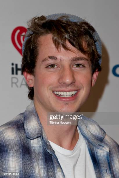 Charlie Puth attends 1061 KISS FM's iHeartRadio Jingle Ball 2017 at American Airlines Center on November 28 2017 in Dallas Texas