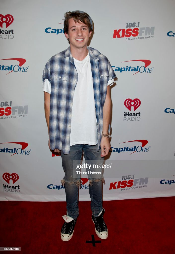 Charlie Puth attends 106.1 KISS FM's iHeartRadio Jingle Ball 2017 at American Airlines Center on November 28, 2017 in Dallas, Texas.