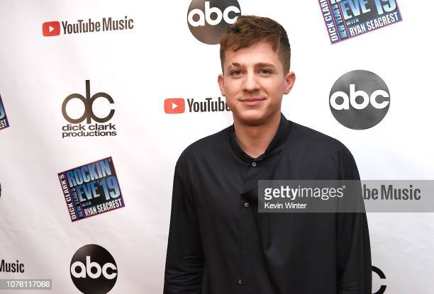 Charlie Puth attends Dick Clark's New Year's Rockin' Eve With Ryan Seacrest 2019 on December 31 2018 in Los Angeles California