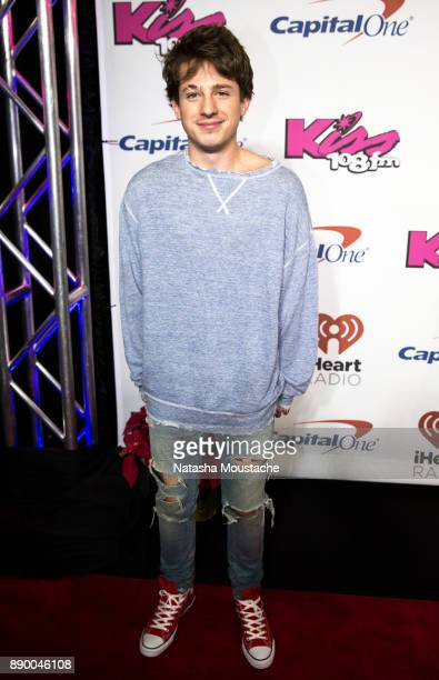 Charlie Puth attends KISS 108's Jingle Ball 2017 presented by Capital One at TD Garden on December 10 2017 in Boston Mass