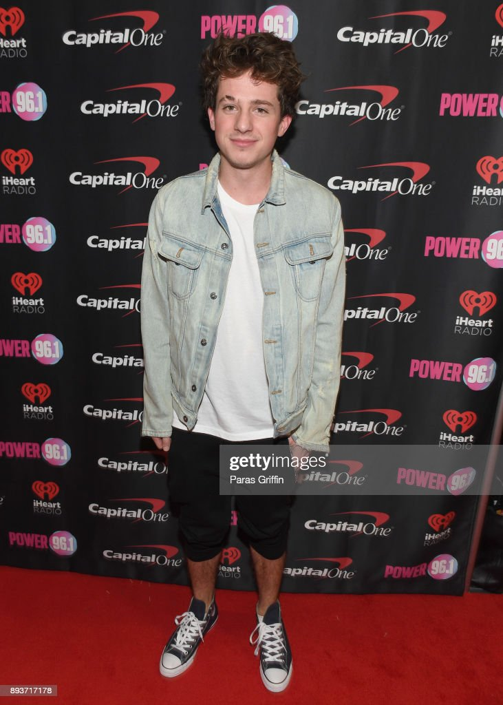 Charlie Puth attends Power 96.1's Jingle Ball 2017 Presented by Capital One at Philips Arena on December 15, 2017 in Atlanta, Georgia.