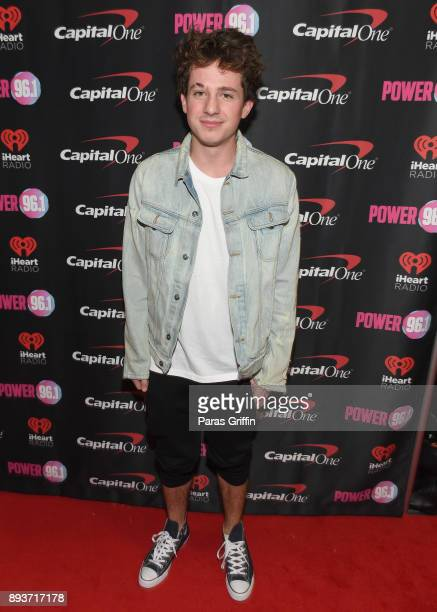 Charlie Puth attends Power 961's Jingle Ball 2017 Presented by Capital One at Philips Arena on December 15 2017 in Atlanta Georgia