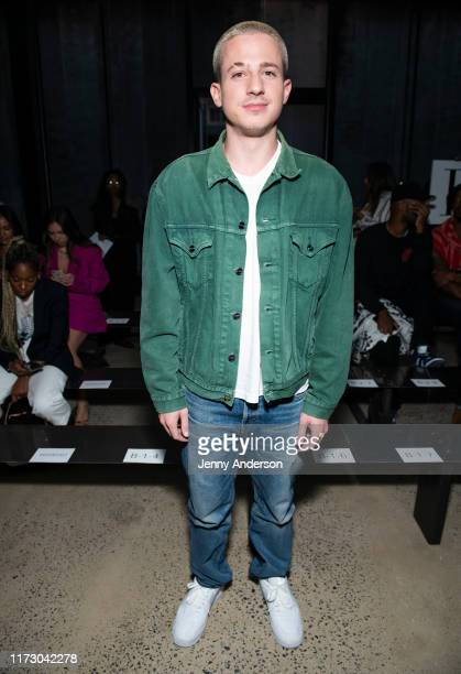 Charlie Puth attends R13 front row during New York Fashion Week: The Shows on September 7, 2019 in New York City.
