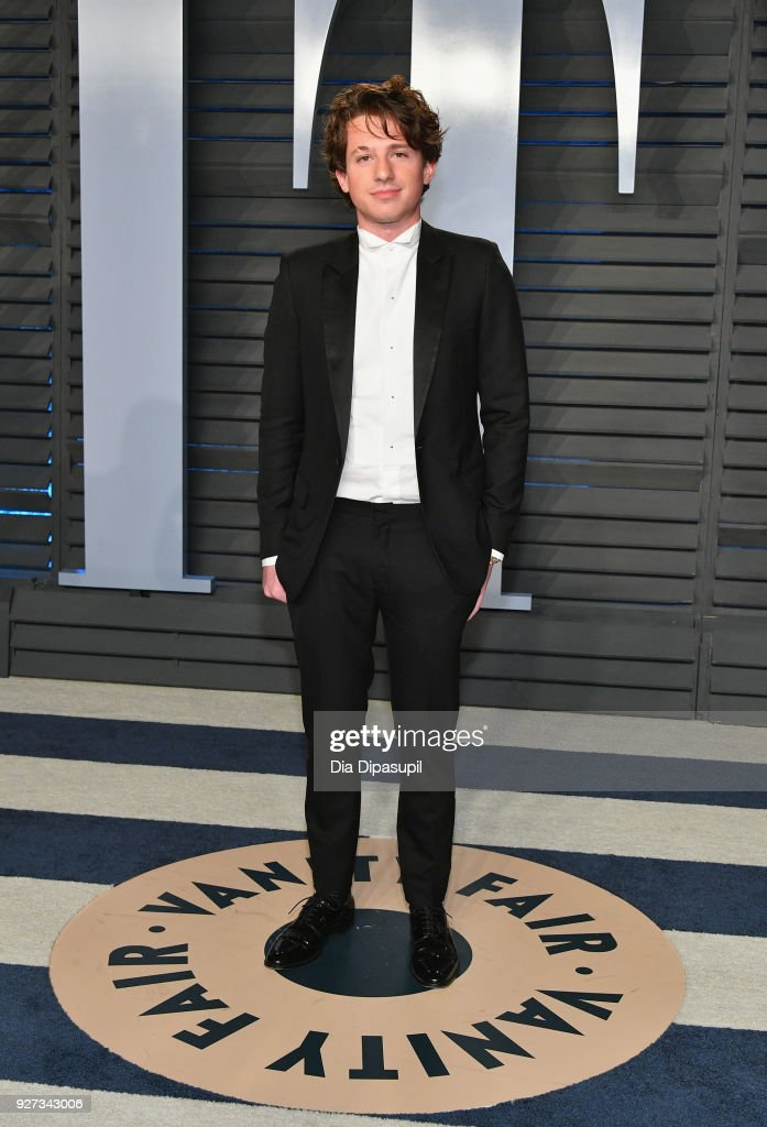 Charlie Puth attends the 2018 Vanity Fair Oscar Party hosted by Radhika Jones at Wallis Annenberg Center for the Performing Arts on March 4, 2018 in Beverly Hills, California.
