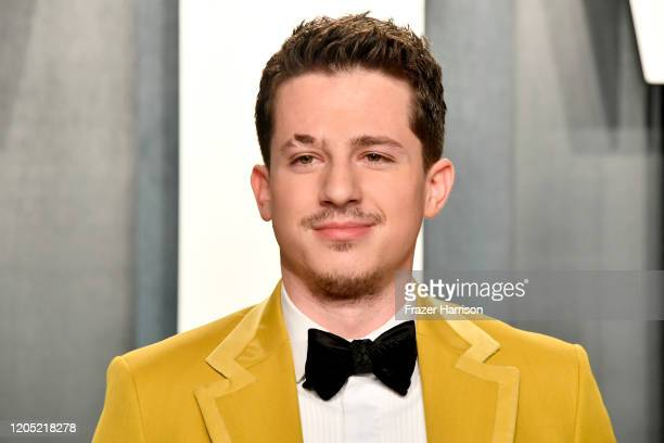 Charlie Puth attends the 2020 Vanity Fair Oscar Party hosted by Radhika Jones at Wallis Annenberg Center for the Performing Arts on February 09, 2020...