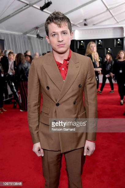 Charlie Puth attends the 61st Annual GRAMMY Awards at Staples Center on February 10 2019 in Los Angeles California
