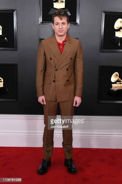 Charlie Puth attends the 61st Annual GRAMMY Awards at Staples Center on February 10, 2019 in Los Angeles, California.