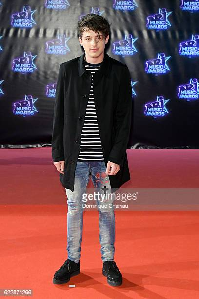 Charlie Puth attends the18th NRJ Music Awards Red Carpet Arrivals at Palais des Festivals on November 12 2016 in Cannes France