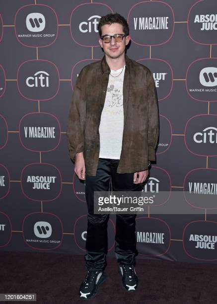Charlie Puth attends Warner Music Group Pre-Grammy Party 2020 at Hollywood Athletic Club on January 23, 2020 in Hollywood, California.