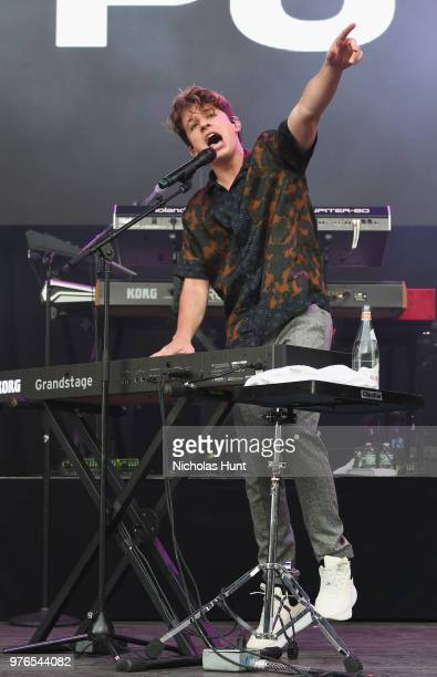 Charlie Puth performs at 1035 KTU's KTUphoria on June 16 2018 in Wantagh City