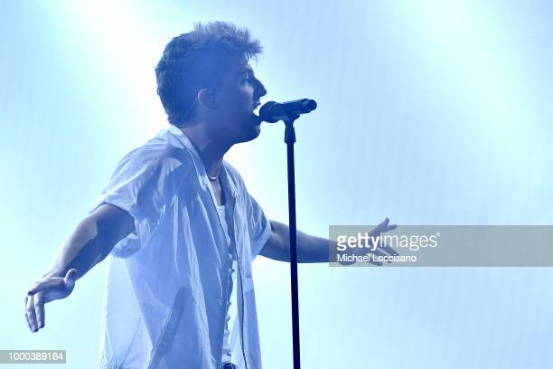 Charlie Puth performs at Radio City Music Hall on July 16 2018 in New York City