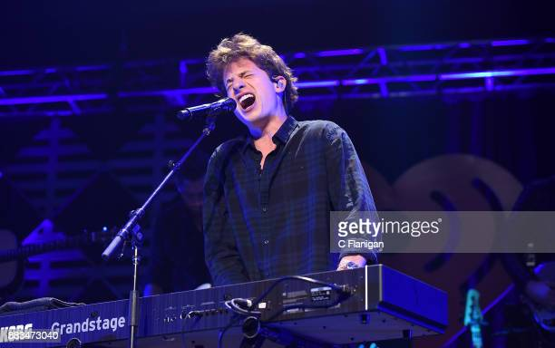 Charlie Puth performs during the 2017 WiLD 949 FM iHeartRadio Jingle Ball at SAP Center on November 30 2017 in San Jose California