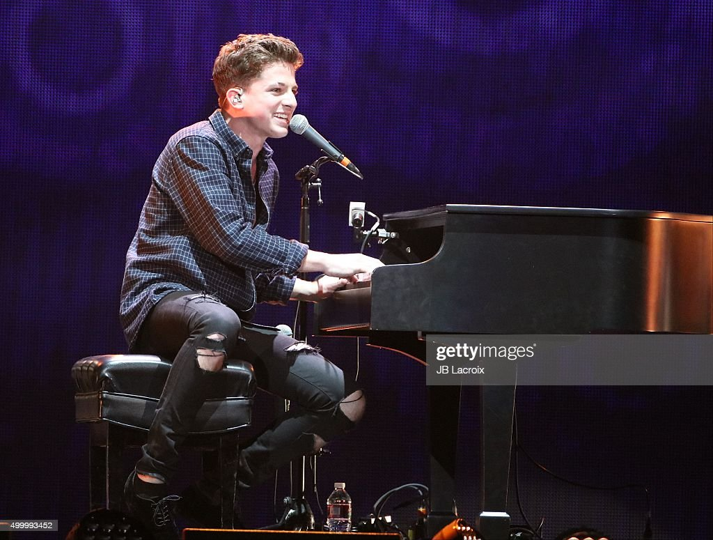 Charlie Puth performs during the KIIS FM's Jingle Ball 2015 presented by Capital One on December 4, 2015 in Los Angeles, California.