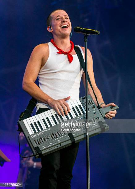 Charlie Puth performs on day 1 of Music Midtown at Piedmont Park on September 14, 2019 in Atlanta, Georgia.