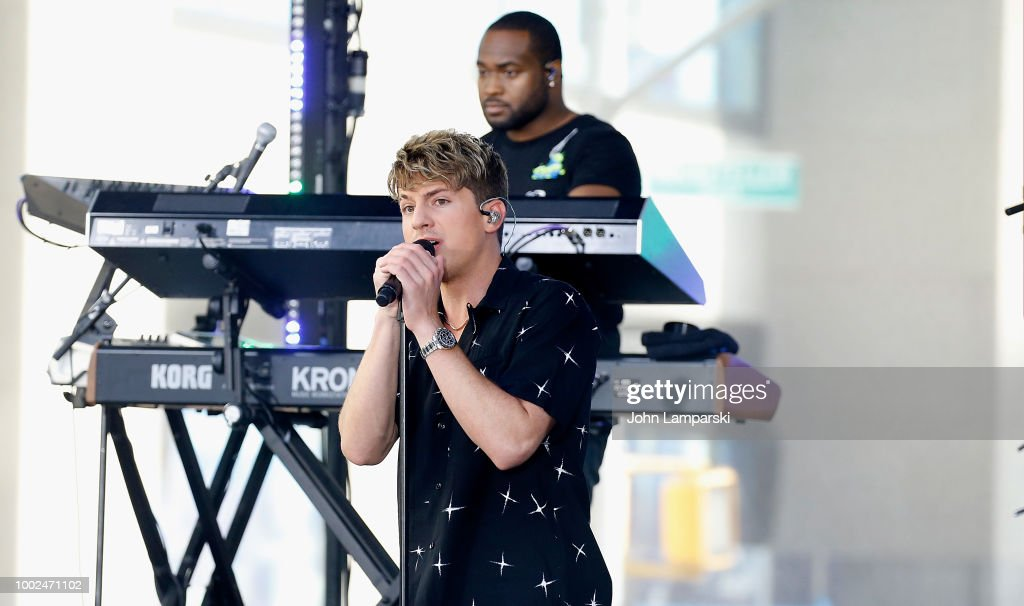 "Charlie Puth Performs On NBC's ""Today"""