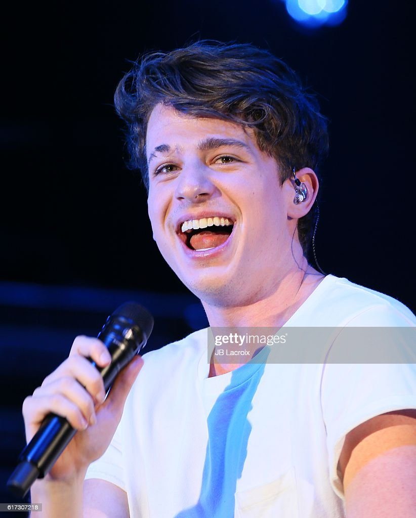 Charlie Puth performs on stage during the CBS RADIO's We Can Survive show on October 22, 2016 in Hollywood, California.