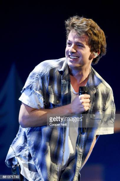 Charlie Puth performs onstage at 1061 KISS FM's Jingle Ball 2017 Presented by Capital One at American Airlines Center on November 28 2017 in Dallas...