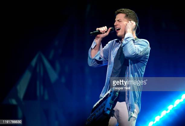Charlie Puth performs onstage during 106.1 KISS FM's Jingle Ball 2019 at Dickies Arena on December 03, 2019 in Dallas, Texas.