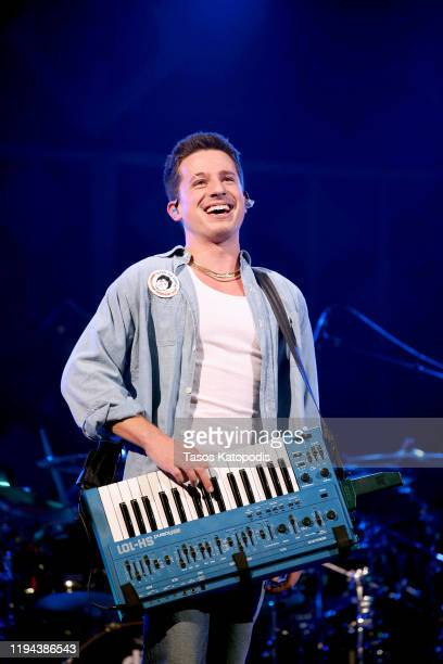 Charlie Puth performs onstage during HOT 99.5's Jingle Ball 2019 on December 16, 2019 in Washington, DC.