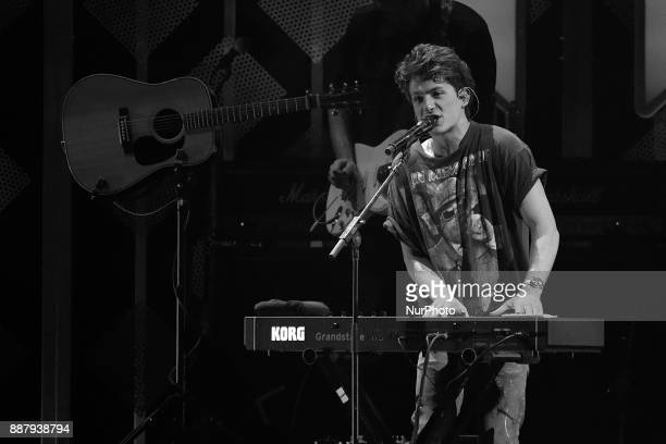Charlie Puth performs onstage during the Q102's iHeartRadio Jingle Ball 2017 at the Wells Fargo Center in Philadelphia PA on December 6 2017