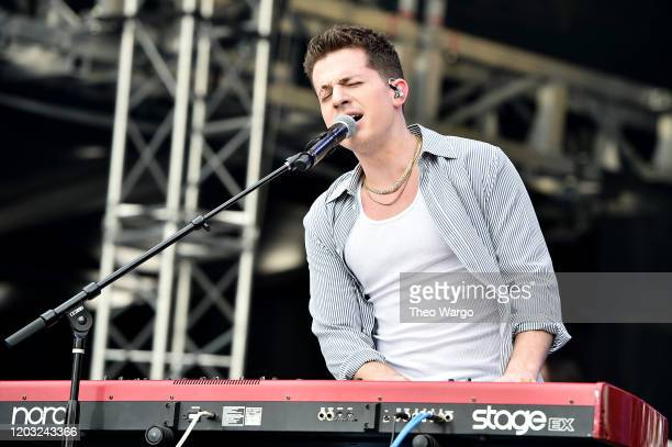 Charlie Puth performs onstage during Universal Pictures Presents The Road To F9 Concert and Trailer Drop on January 31, 2020 in Miami, Florida.