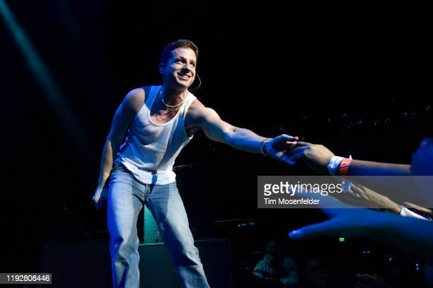 Charlie Puth performs onstage during WiLD 94.9's FM's Jingle Ball 2019 at The Masonic Auditorium on December 08, 2019 in San Francisco, California.