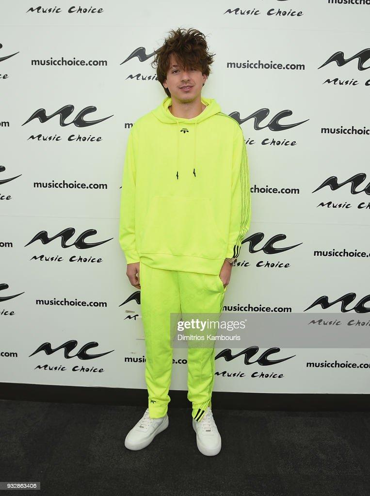 Charlie Puth Visits Music Choice