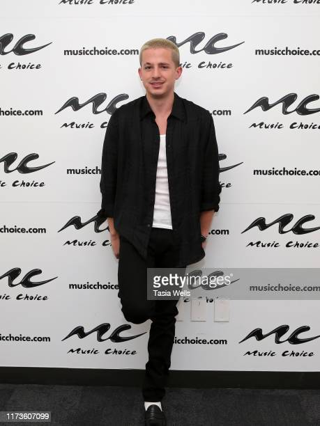 Charlie Puth Visits Music Choice at Music Choice on September 10, 2019 in New York City.