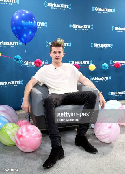 Charlie Puth visits SiiriusXM's Hits 1 at SiriusXM Studios on April 28 2017 in New York City