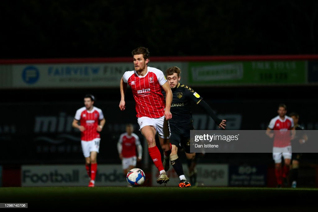 Cheltenham Town v Oldham Athletic - Sky Bet League Two : News Photo