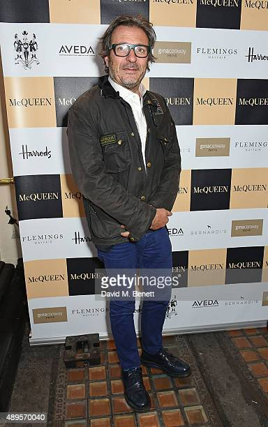Charlie Rapino attends the exclusive viewing of 'McQueen' hosted by Karim Al Fayed for Lonely Rock Investments during London Fashion Week at Theatre...