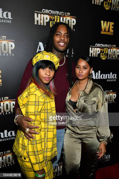 Charlie Rivera Waka Flocka Flame and Tammy Rivera attend WE tv Celebrates The Return Of Growing Up Hip Hop Atlanta at Club Tongue Groove on October 2...