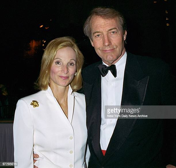 Charlie Rose and Amanda Burden are on hand for the Breast Cancer Research Foundation's Annual Spring Gala and Concert at Cipriani 42nd St