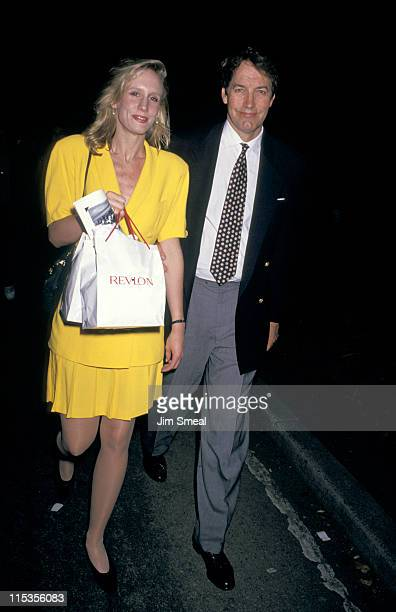 Charlie Rose and Amanda Burden during 'A League of Their Own' Screening to Benefit New York Women in Film at Ziegfeld Theater in New York City New...