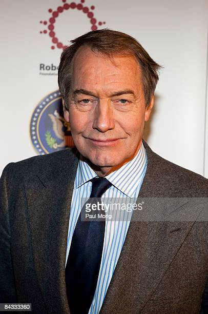 Charlie Rose at the celebration to honor the Inauguration of Barack Obama at Cafe Milano on January 16, 2009 in Washington, DC.