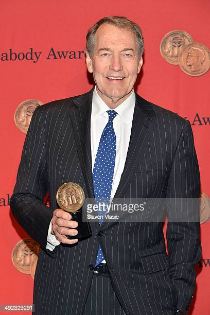 Charlie Rose attends 73rd Annual George Foster Peabody awards at The Waldorf=Astoria on May 19 2014 in New York City