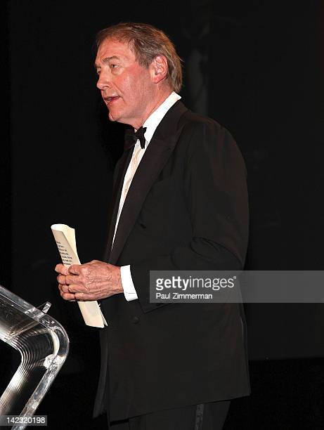 Charlie Rose attends he 55th Annual New York Emmy Awards gala at the Marriott Marquis Times Square on April 1 2012 in New York City