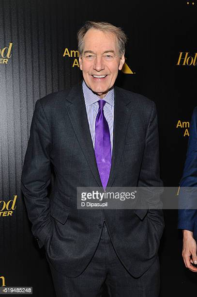 Charlie Rose attends The Hollywood Reporter's 2016 35 Most Powerful People in Media at Four Seasons Restaurant on April 6 2016 in New York City
