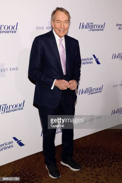 Charlie Rose attends 'The Hollywood Reporter's 35 Most Powerful People In Media 2017' at The Pool on April 13 2017 in New York City