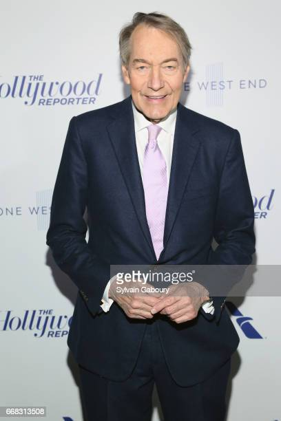 Charlie Rose attends The Hollywood Reporter's 35 Most Powerful People In Media 2017 on April 13 2017 in New York City
