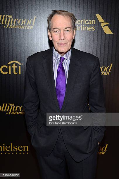 Charlie Rose attends The Hollywood Reporter's 5th Annual 35 Most Powerful People in New York Media on April 6 2016 in New York City