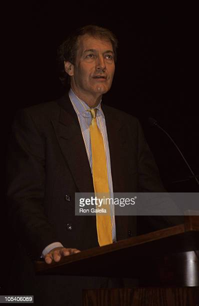 Charlie Rose during Charlie Rose Lecture at William Paterson University at William Paterson University in Wayne New Jersey United States