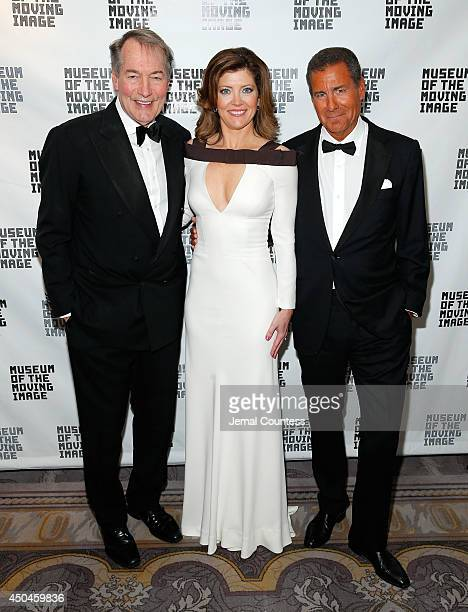 Charlie Rose Norah O' Donnell and Richard Plepler attend the Museum Of The Moving Image Honors Richard Plepler Charlie Rose at Saint Regis Hotel on...