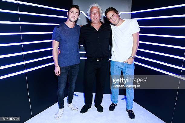Charlie Rosen Aby Rosen and Gabriel Rosen at the Aby Rosen and Dom Perignon Celebrate Art Basel Miami Beach After Party at Wall at W Hotel on...