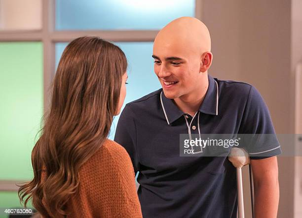 Charlie Rowe and Ciara Bravo in the 'Ergo Ego' episode of RED BAND SOCIETY airing Wednesday Nov 5 2014 on FOX