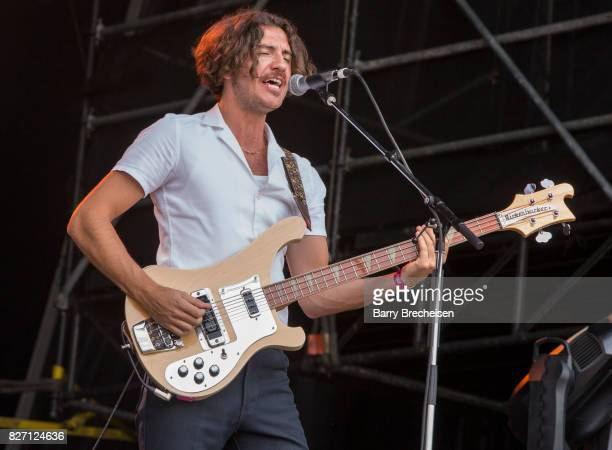 Charlie Salt of Blossoms performs at Grant Park on August 5 2017 in Chicago Illinois