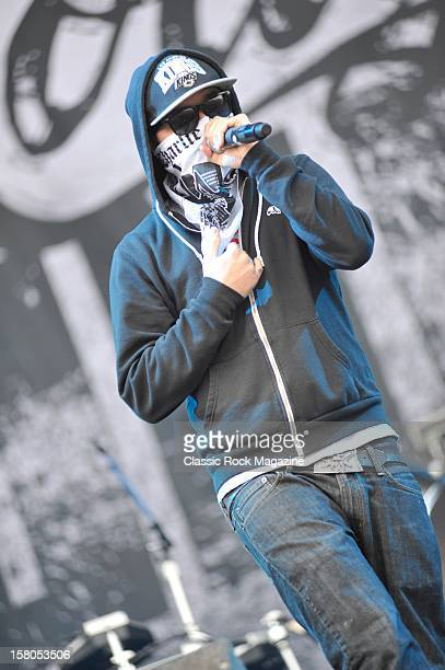 Charlie Scene from Hollywood Undead live onstage at Download Festival 2011 Donington Park Leicester June 11 2011