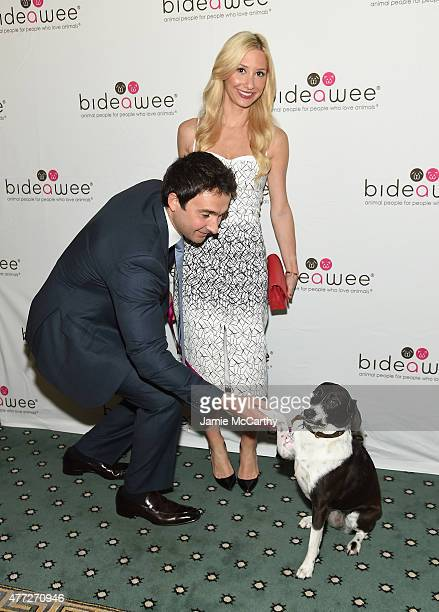 Charlie Schwartz and Laura Rose attend the 2015 Bideawee Ball with Former Bachelor Star Prince Lorenzo Borghese on June 15, 2015 in New York City.