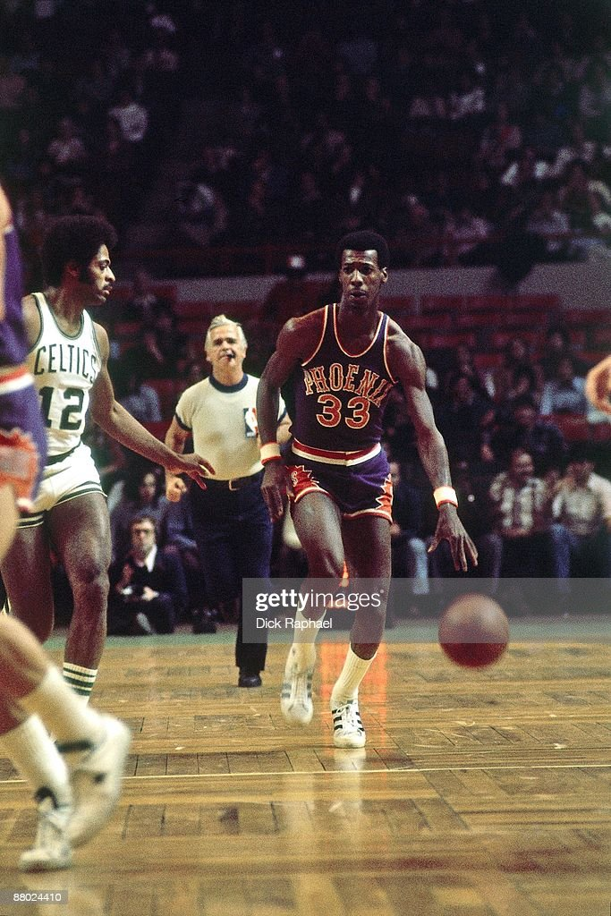 Phoenix Suns vs. Boston Celtics : News Photo